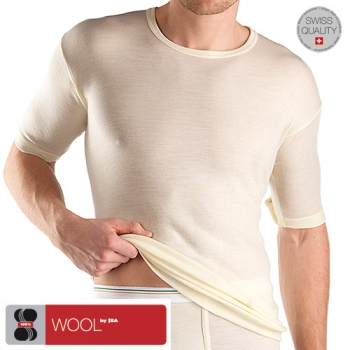 T Shirt 1/4 Arm Wool ISAbodywear(ISAwo1757a)