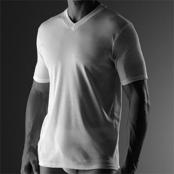 V Shirt  Business Class Zimmerli (ZIbu2205124s)