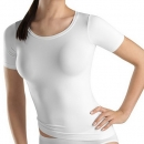 R Shirt 1/2 Arm Touch Feeling Hanro (HAtf1815a)